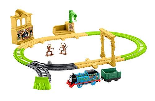 Thomas & Friends Il Trenino Thomas Palazzo delle Scimmie, Playset con Trenino, Giocattolo per Bambini 3+, FXX65
