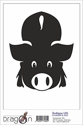 Black Dragon - T-Shirt Herren - JDM / Die cut - Geiles Schwein - DU Sau Weiß