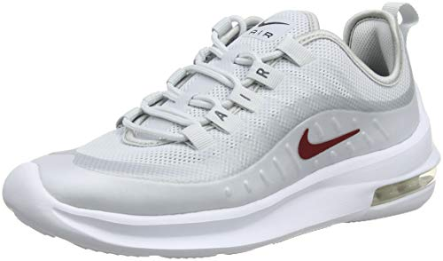 Nike Damen Air Max Axis Laufschuhe, Mehrfarbig (Pure Platinum/Red Crush/Blackened Blue 003), 38.5 EU