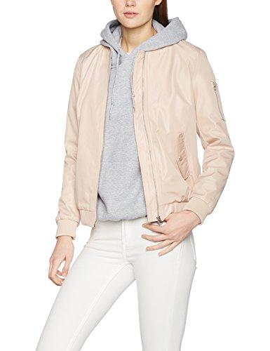 VILA CLOTHES Damen Jacke Vimaddie Bomber Jacket-Noos, Rosa (Rose Dust Rose Dust), Small