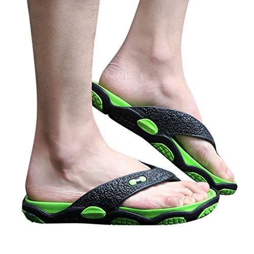 RYTEJFES Hausschuhe Herren Freizeit Strandschuhe Atmungsaktiv rutschfeste Schuhe Mann-beiläufige Leichte Wasserschuhe Trekking Aquaschuhe -
