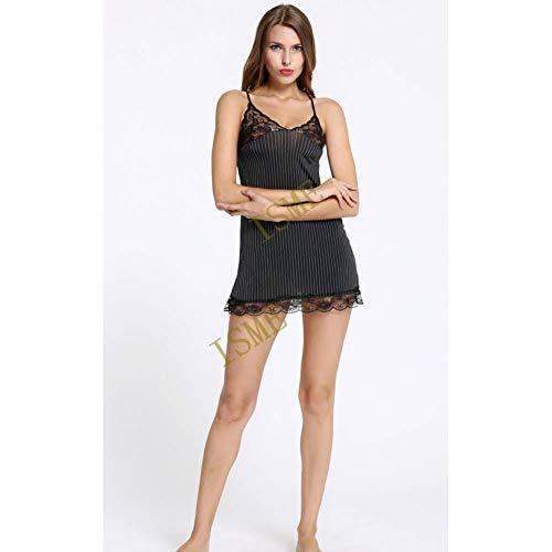 Kostüm Gestreifte Pyjamas - CHENGQQ Erotische Unterwäsche Sexy Dessous Frauen Schwarz Gestreifte Spitze Exotische Bekleidung Dessous Hot Lady Sexy Kostüme Deutet Sex Underwear Pyjama Rutscht