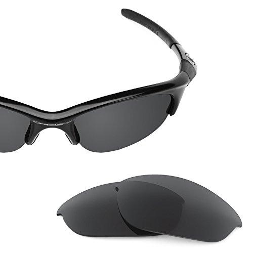 Verres de rechange pour Oakley Half Jacket — Plusieurs options Noir - Polarisés