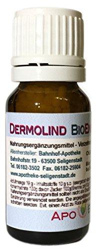 Dermolind BioEnerg Globuli mit Vitamin C - 10 g - Hauterkrankungen - aus deutscher Traditionsapotheke