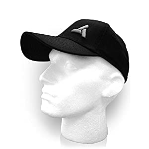 Assassins Creed Unity Abstergo Industries Logo Flex Fit Baseball Cap (schwarz)
