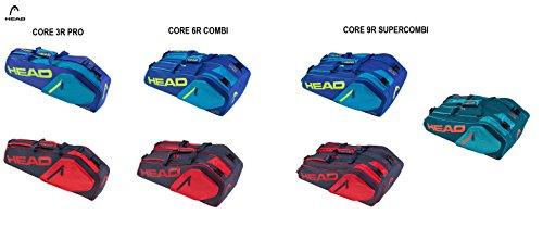 76973e6563ec Head Core Tennis Kit Bag ( New Designs 2017 ) (Core 9R Supercombi