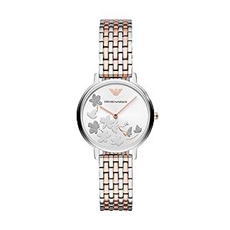 Emporio Armani Reloj Analogico para Mujer de Cuarzo con Correa en Acero Inoxidable AR11113