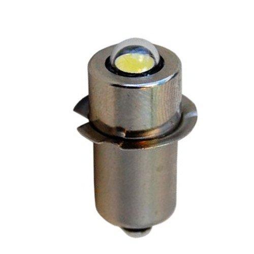 HQRP Bombilla LED de alta intensidad 3W / Módulo LED para MAGLITE 3 4 5 6 D pilas Linternas 3.2v - 9V