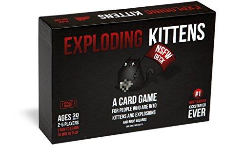 Exploding Kittens NSFW Edition - Juego de cartas (contenido explícito
