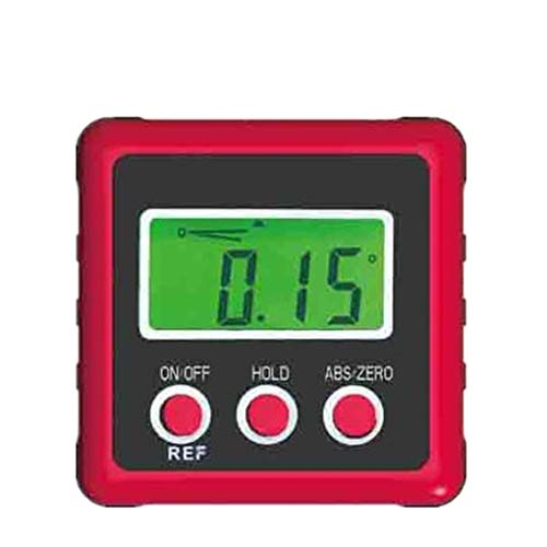 Floridivy Mini Digital Ebene Inclinometer Winkelmesser Winkelmesser Clinometer DREI Tasten Display Screen Gradienter