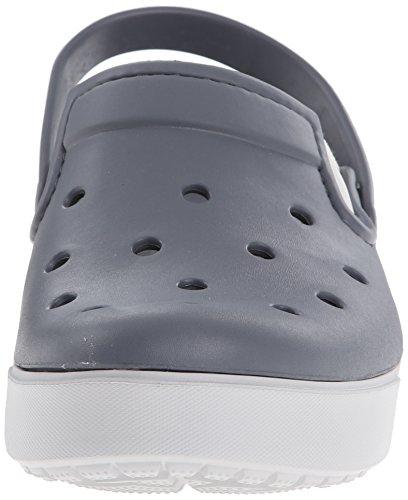 Crocs Citilane Clog, Sabots Mixte Adulte Gris (Charcoal/Pearl White)