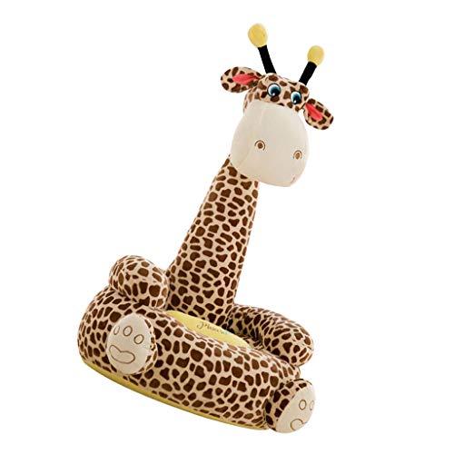 F Fityle Niedliche Sitzsackhülle Sitzsack Sitzkissen Sitzsäcke für Kinderzimmer - Kaffee Giraffe (Sitz)