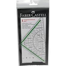 Faber Castell 177090 - Zeichendreieck groß, mit Griff