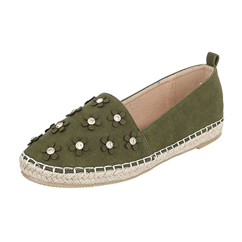 Ital-Design - Low-top Donna Olive