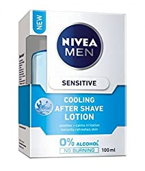 Nivea Men Sensitive Cooling Afer Shave Lotion 100ml with Ayur Product in Combo