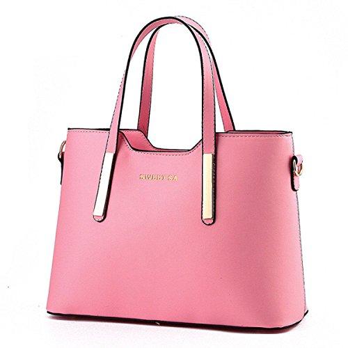Tendenza Yy.f Nuove Borse Moda Borsa A Tracolla Pacchetto Diagonale Borsa Portatile Signora Messenger Grandi Sacchetti Multicolori Pink