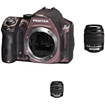 Pentax K-30 Digital Camera With 18-55mm AL And 50-200mm AL Lens Kit - Silky Bordeaux [Electronics]