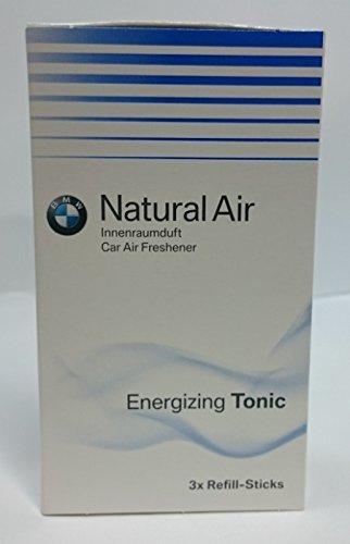 BMW - Ricarica originale Natural Air, Energizing Tonic, 3 pezz