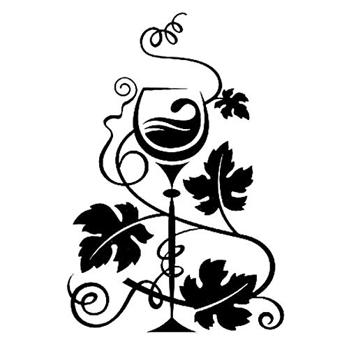 WZJam Wandaufkleber Wandbild Weintrauben Weinbereitung Vinyl Car Sticker Decor @ A