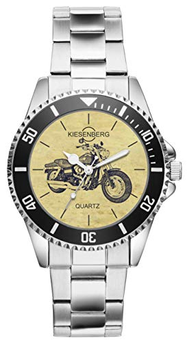 Regalo per Harley Davidson Fat Bob Motocicletta Fan Autista Kiesenberg Orologio 20405