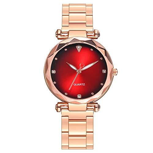 Förderung  Damen Uhr Edelstahl Minimalism Analog Armbanduhren Sport Mode Outdoor Quarz Uhren für Frauen 2019 LEEDY