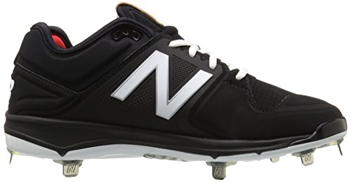 New Balance Men's L3000V3 Baseball Shoe, Royal/White, 10 2E US Black/black