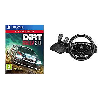 Codemasters - Dirt Rally 2.0 Day One Edition (PlayStation 4) + Thrustmaster T80 RW GT - Volante PS4/ PS3, Licencia Oficial Playstation (B07PJXPL59) | Amazon price tracker / tracking, Amazon price history charts, Amazon price watches, Amazon price drop alerts