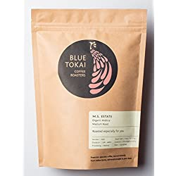Blue Tokai Coffee Roasters M.S. Estate (Organic) - Medium Roast Arabica Coffee - 250 Gm (Espresso)