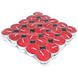Kamandal Red Tealight Candle (Pack Of 50)