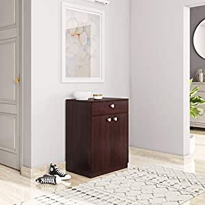 Amazon Brand - Solimo Andro Engineered Wood Shoe Rack with Drawer (Espresso Finish)