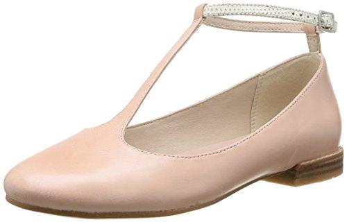 Clarks Festival Glee, Damen Knöchelriemchen Ballerinas, Pink (Dusty Pink Lea), 41 EU