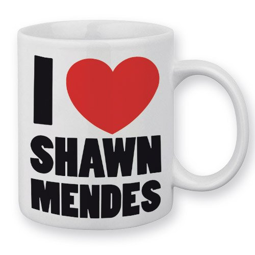 Mug I Love Shawn Mendes (A) - Fabriqué en France - Chamalow Shop