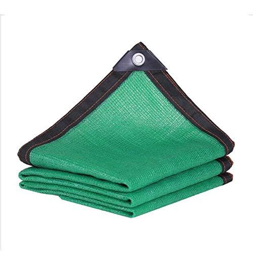 Dall Sunblock Shade Cloth Verschlüsselung Sonnensegel Winddicht Wärmedämmung Pflanzendecke Außenterrasse Balkon (Color : Green, Size : 7×8m)
