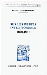 Sur les objets intentionnels, 1893-1901
