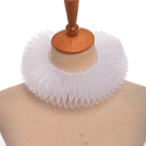 GRACEART Elisabethanisch Dickens Rüsche Halsband