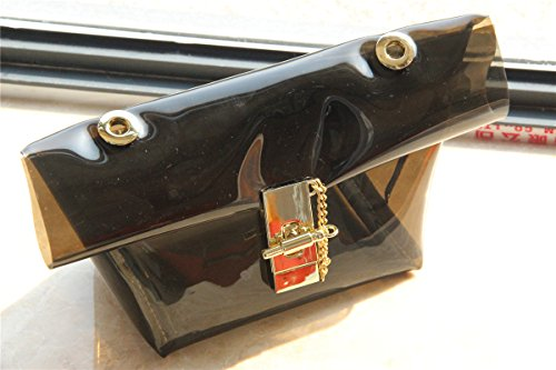 Zarapack Cartamodelli-Borsa a tracolla, con ologramma, Style 6 (Trasparente) - BA823 Style 5