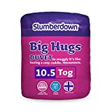 Slumberdown Big Hugs 10.5 Tog Duvet, White, Single