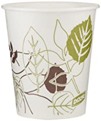 Dixie 58WS Pathways WiseSize Wax-Treated Paper Cold Cups, 5oz Capacity (24 Sleeves of 50)