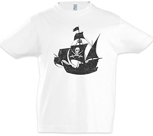 Pirate Ship Jungen Kinder Kids T-Shirt