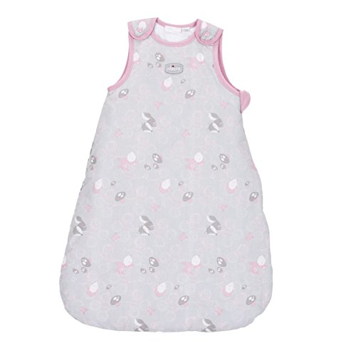Chicco Princess - Saco de dormir sin mangas, 9-12 meses, color rosa