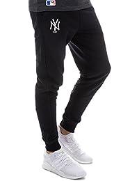 A NEW ERA Hombres Pantalones Pantalón Deportivo Team Apparel French Terry  NY Yankees 7fc58ef821c