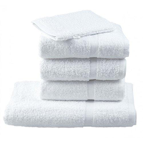 Crocus - Gant de toilette 100% Coton 15 x 21 cm - Lot de 12