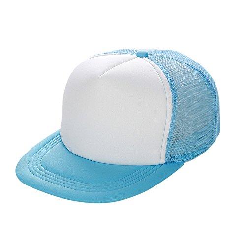 Yankees Kostüm Baseball - Zottom Unisex Mesh Baseball Cap Hut leer Visier Hut einstellbar WH