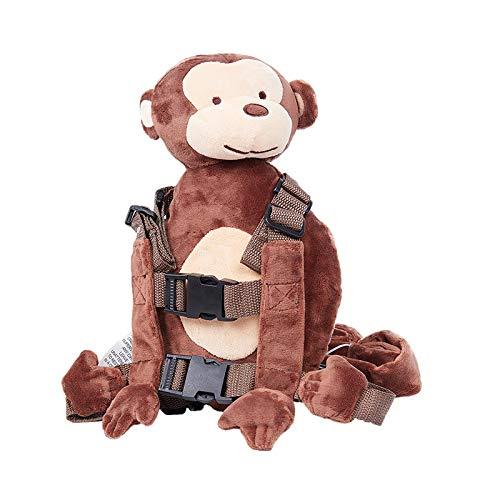 errucksack Animal Schule Tasche, Sicherheitsgurt Leine Strap Baby Kleinkind Gehen Cosplay Rucksack Zügel Tasche, Affe 2 ()