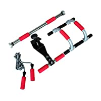 Xerfit Unisex Adult Home Gym Conditioning Pack - Black/Orange/Silver, One Size
