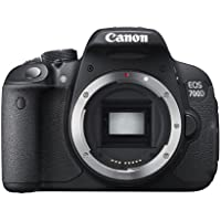 Canon EOS 700D 18MP 720p Wi-Fi Digital SLR Camera Body (Black)