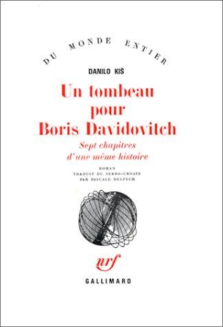 Un tombeau pour Boris Davidovitch