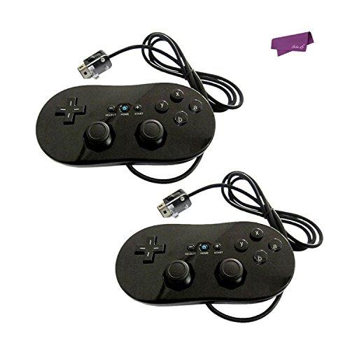 SalesLa Pro Clásico Joypad Controlador de Gamepad con cable para Nintendo Wii Remote
