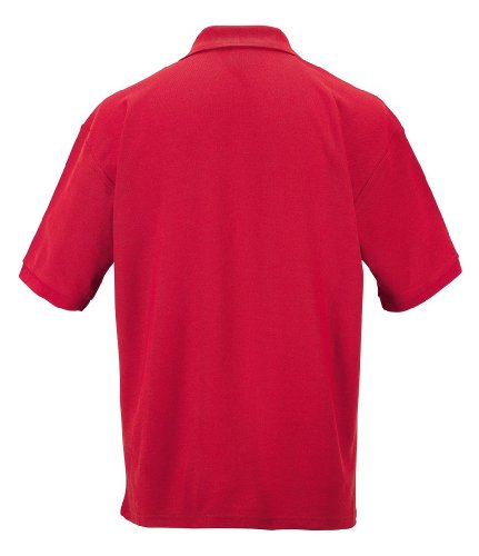 Klassisches Poloshirt aus Mischgewebe Classic Red