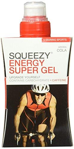 Squeezy Sports Nutrition Energy Super Gel 125 ml, Geschmacksrichtung: Cola und Koffein, 1er Pack (1 x 125 ml)